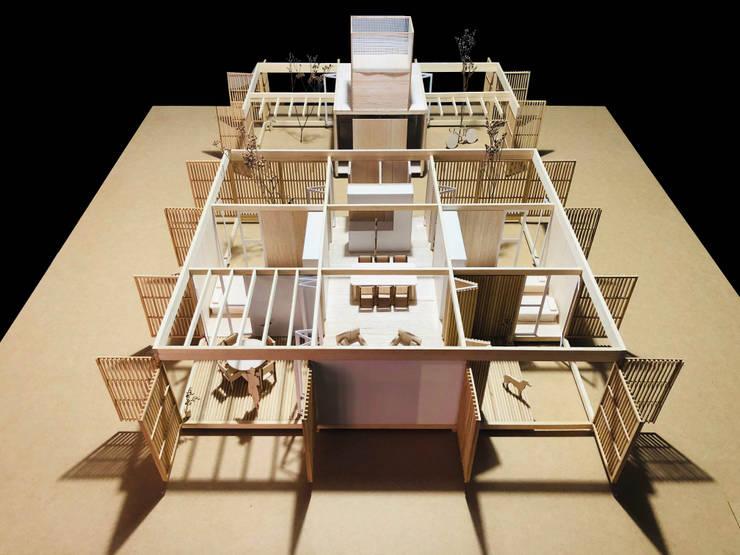 Concurso nacional de ideas <q>prototipo de vivienda sustentable ejecutado con madera</q> – 3er Premio: Casas de estilo  por Arquitecto Casola Walter,