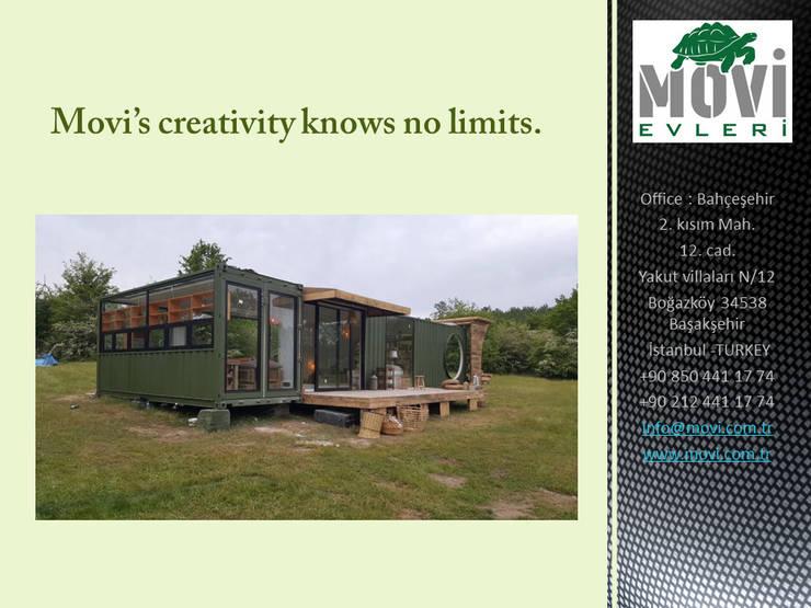 Small houses by MOVİ evleri