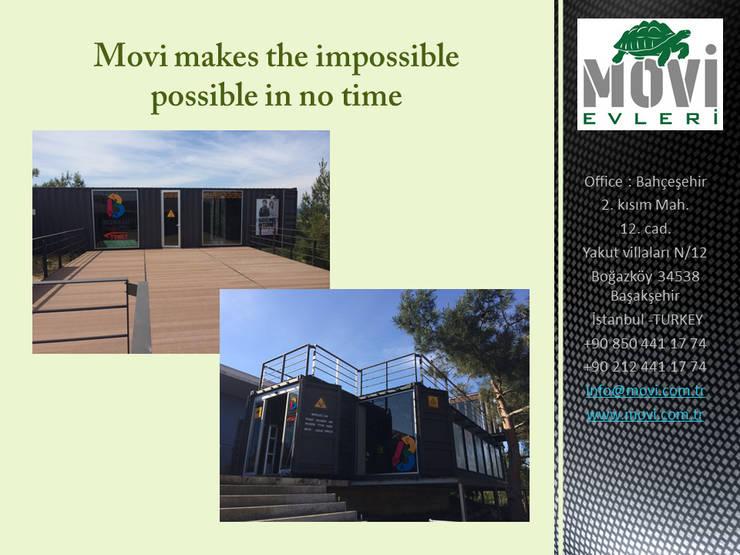 MOVİ evleri – MOVI SHIPPING CONTAINER  HOMES 1 :  tarz Villa