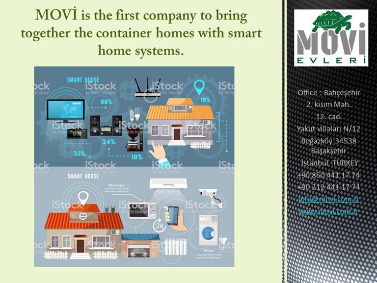 MOVİ evleri – MOVI SHIPPING CONTAINER  HOMES 1 :  tarz Kır evi