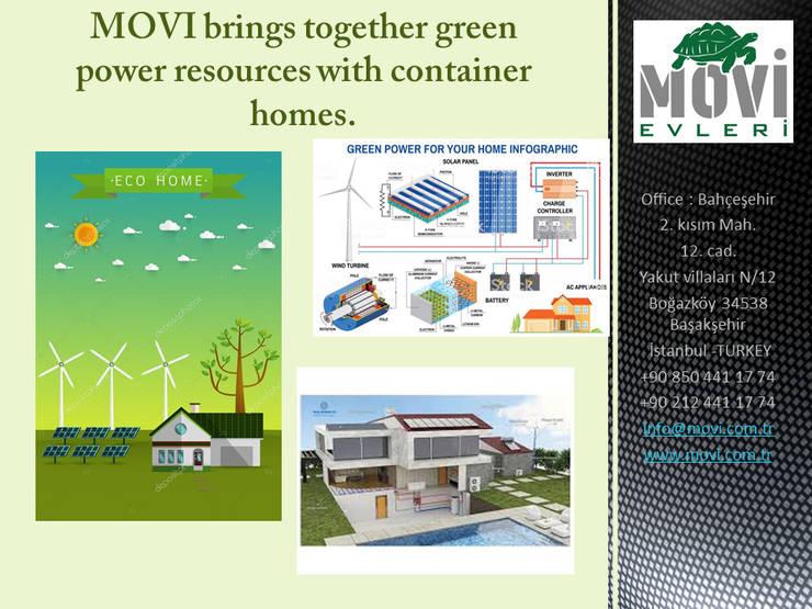 Single family home by MOVİ evleri