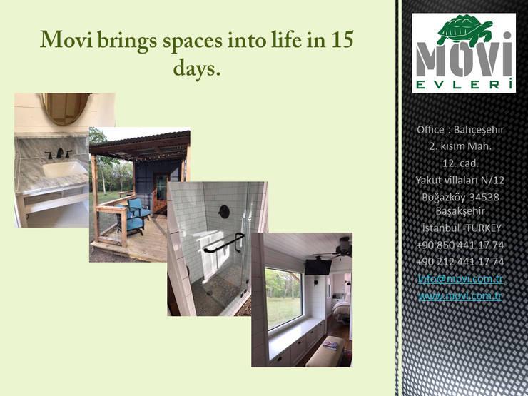 MOVİ evleri – MOVI SHIPPING CONTAINER  HOMES 1 :  tarz Prefabrik ev