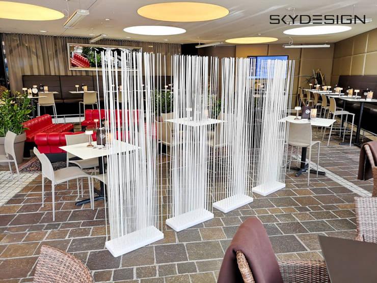 ein paravent sichtschutz raumteiler f r die terrasse gastroausstattung outdoor m bel por www. Black Bedroom Furniture Sets. Home Design Ideas