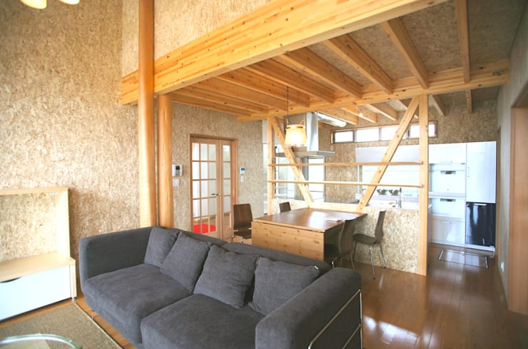 Dining room by 株式会社高野設計工房, Modern