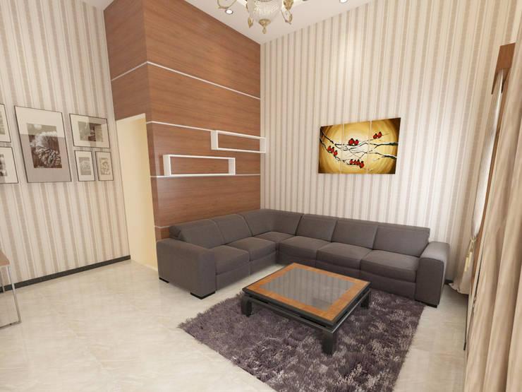 Interior Bp IP:  Ruang Keluarga by Arsitekpedia