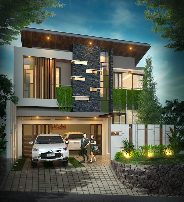Private House Ibu L:   by Arsitekpedia