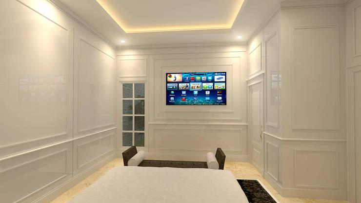 Медиа комната в классическом стиле от Arsitekpedia Классический