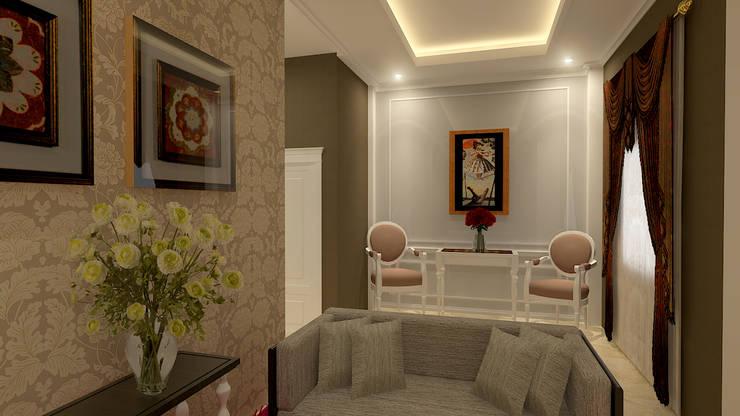 Гостиная в классическом стиле от Arsitekpedia Классический