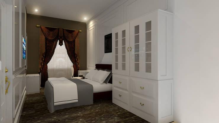 Chambre de style  par Arsitekpedia,