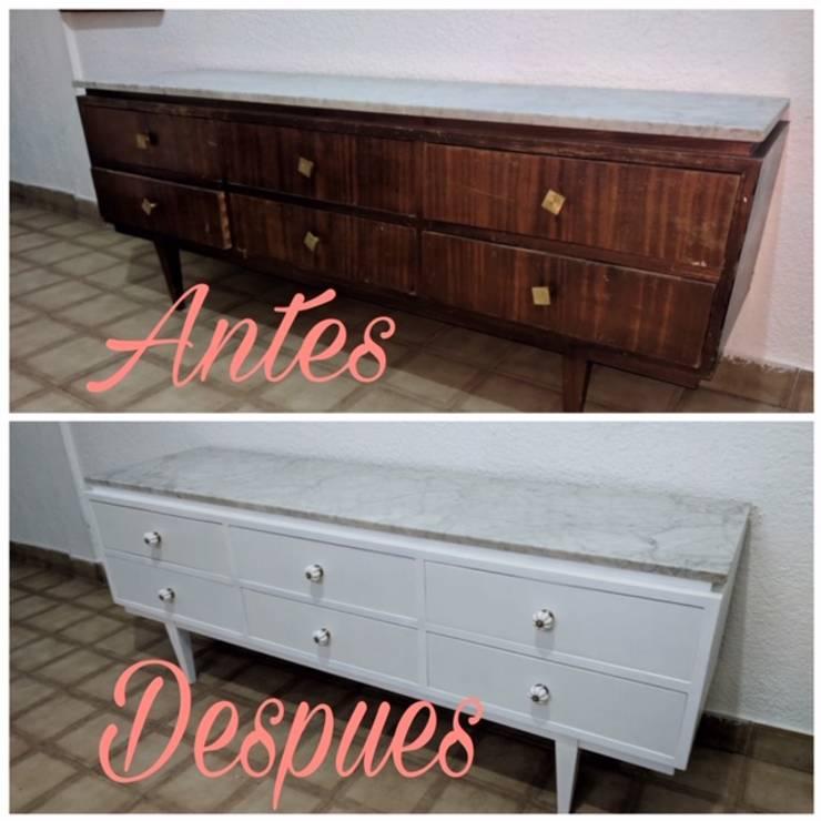 Renovación de Cómoda por ANADECO: Dormitorios de estilo  por ANADECO