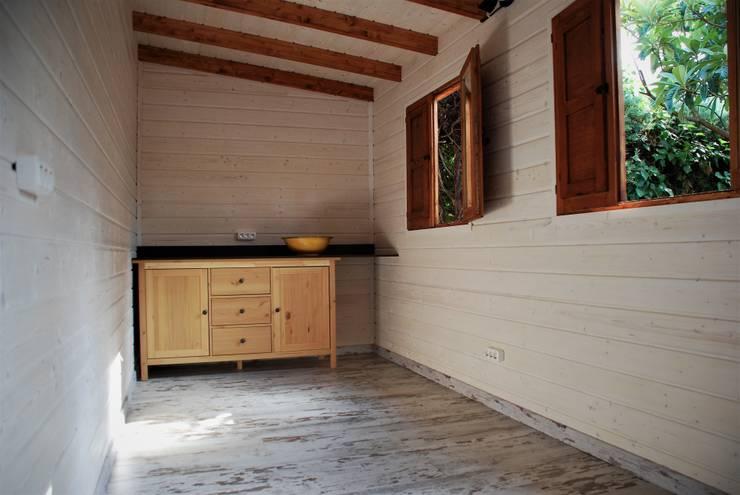 Caseta de madera habitable en rivasvaciamadrid de - Casetas de madera madrid ...