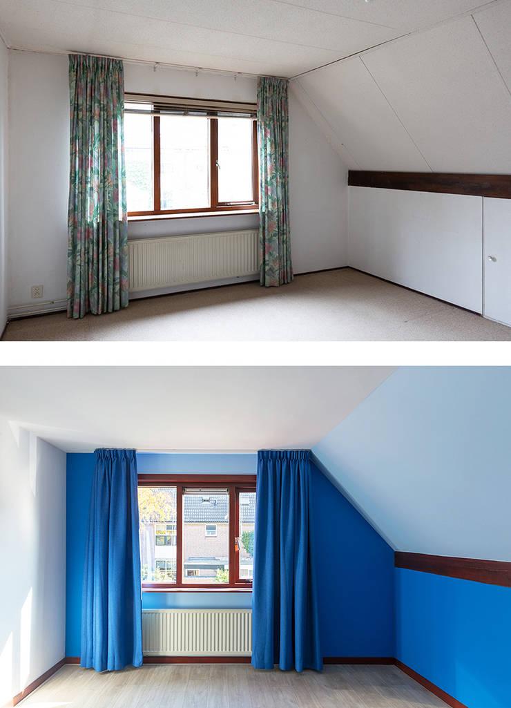 Regina Dijkstra Design의  남아 침실