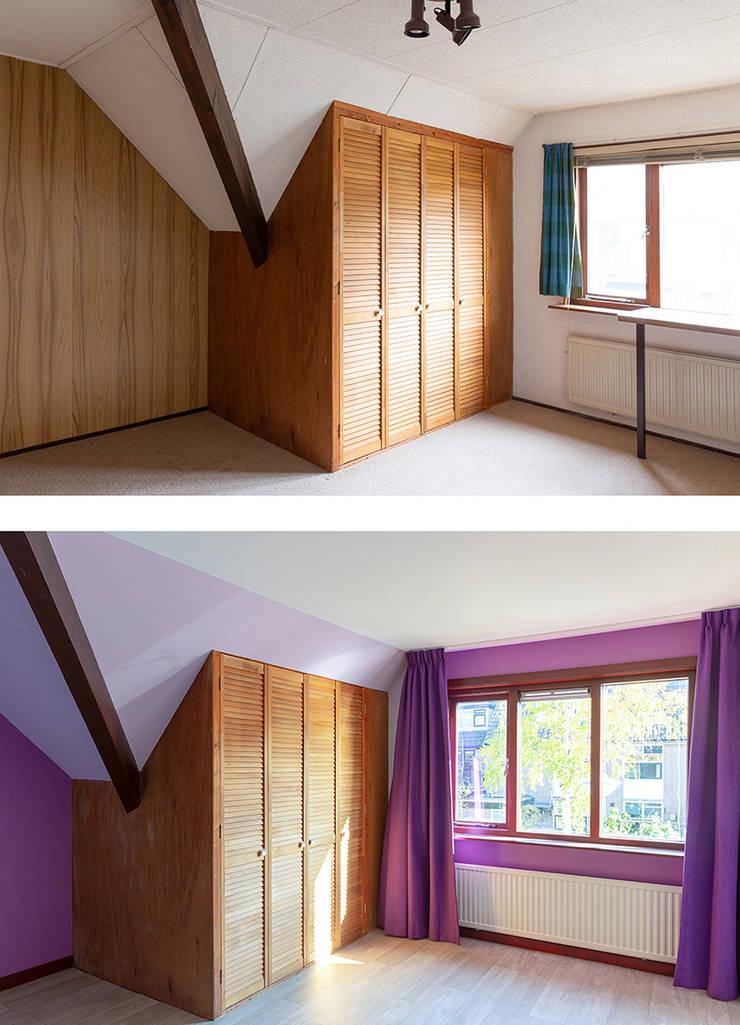 Regina Dijkstra Design의  여아 침실