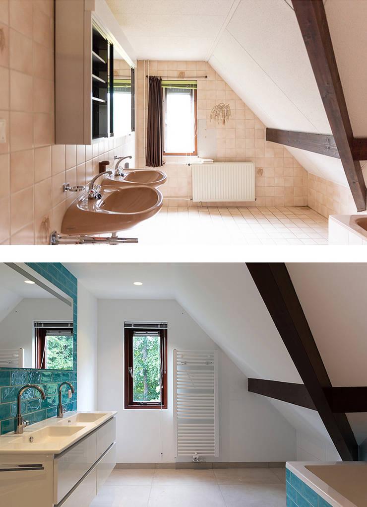 Regina Dijkstra Design의  욕실