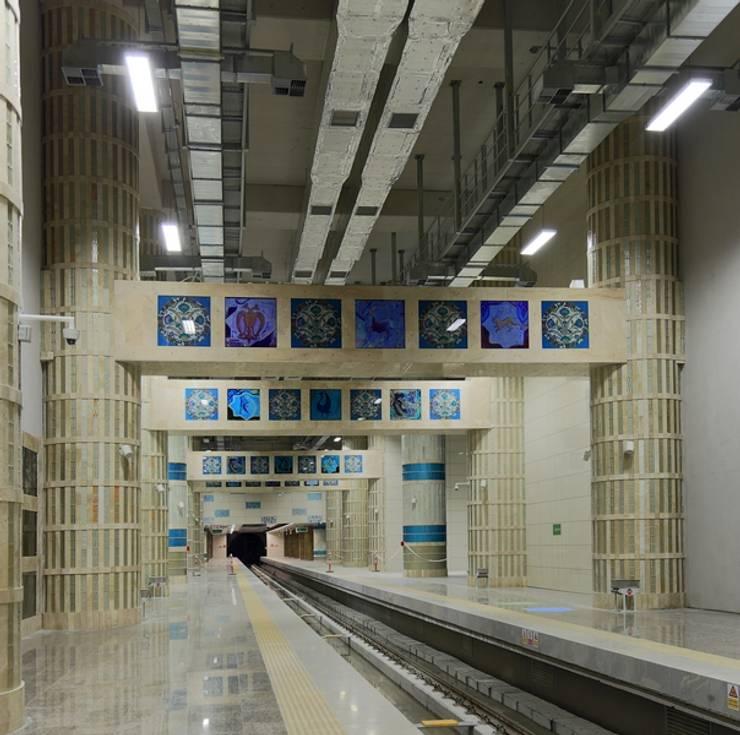 Projekty,  Lotniska zaprojektowane przez DESTONE YAPI MALZEMELERİ SAN. TİC. LTD. ŞTİ.