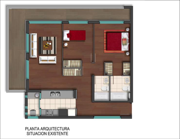 Dpto Román Diaz: Cocinas de estilo  por EnVoga