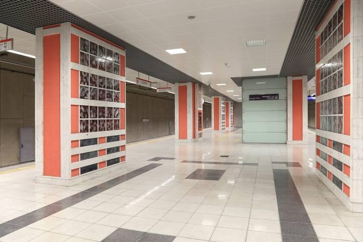 DESTONE YAPI MALZEMELERİ SAN. TİC. LTD. ŞTİ.  – İstanbul Metro İstasyonları Tasarım ve Uygulama:  tarz Etkinlik merkezleri, Endüstriyel