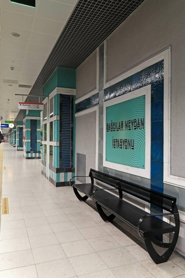 DESTONE YAPI MALZEMELERİ SAN. TİC. LTD. ŞTİ.  – İstanbul Metro İstasyonları Tasarım ve Uygulama:  tarz Stadyumlar, Endüstriyel