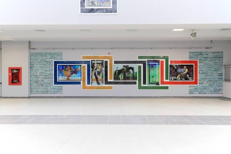 DESTONE YAPI MALZEMELERİ SAN. TİC. LTD. ŞTİ.  – İstanbul Metro İstasyonları Tasarım ve Uygulama:  tarz Havalimanları, Endüstriyel