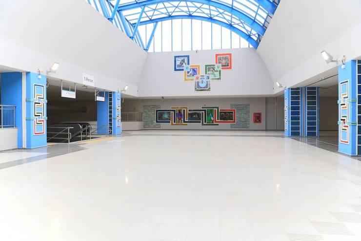 DESTONE YAPI MALZEMELERİ SAN. TİC. LTD. ŞTİ.  – İstanbul Metro İstasyonları Tasarım ve Uygulama:  tarz Müzeler, Endüstriyel
