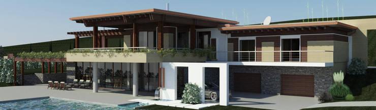 Casas estilo moderno: ideas, arquitectura e imágenes de Ing. Massimiliano Lusetti Moderno