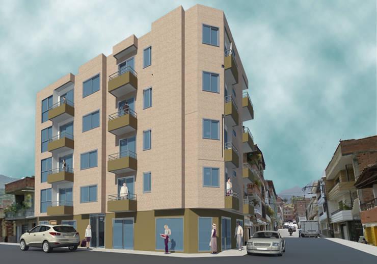 modelo edificio :  de estilo  por  estudio artico
