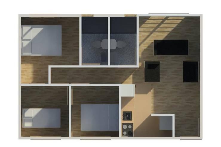 propuesta edificios  VIS Y VIP, :  de estilo  por  estudio artico