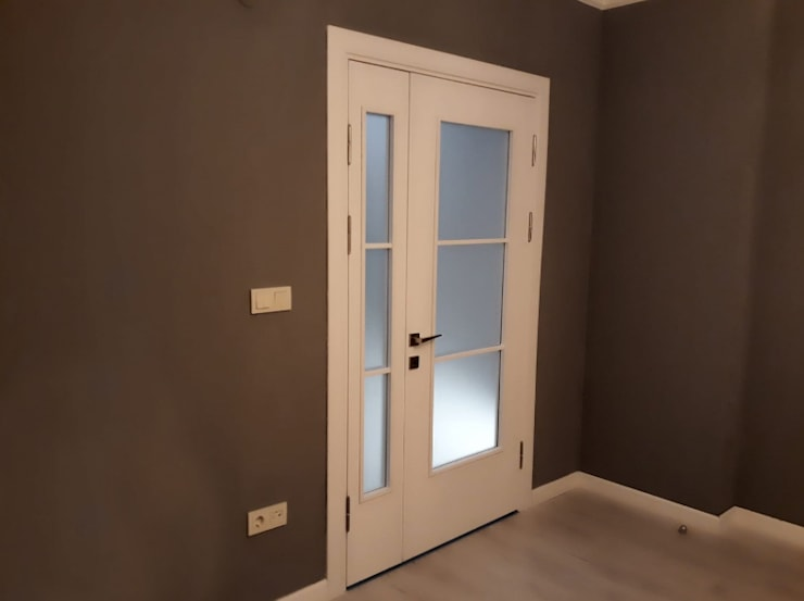 Evde Mimar – Antrasit Rengi Boya Badana:  tarz Oturma Odası