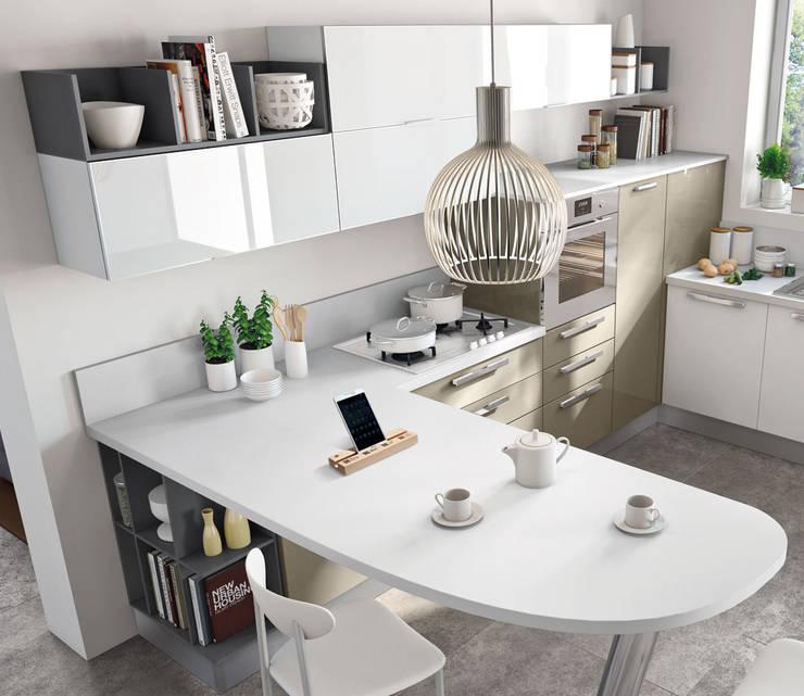 Cooking Block: Casa in stile  di Officinanove