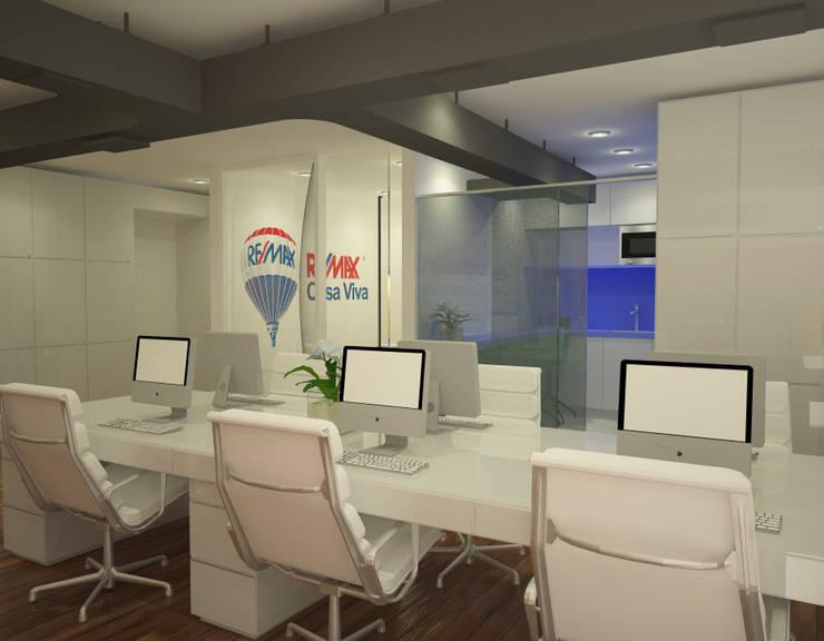 Oficina Remax :  de estilo  por Pérez | Ferré  Asociados ,