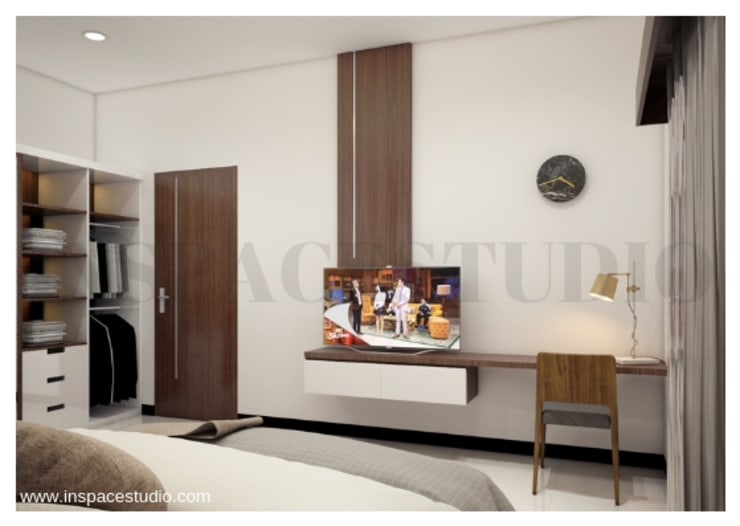 CB 02 Apartement:  Kamar Tidur by Inspace Studio