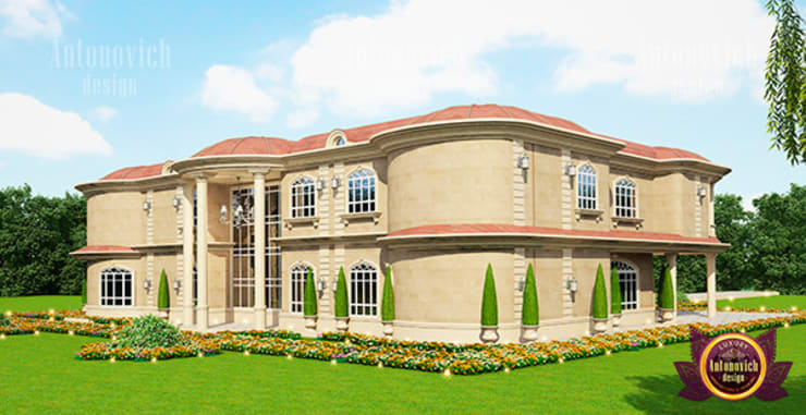 "Supreme  Luxury Exterior Design: {:asian=>""asian"", :classic=>""classic"", :colonial=>""colonial"", :country=>""country"", :eclectic=>""eclectic"", :industrial=>""industrial"", :mediterranean=>""mediterranean"", :minimalist=>""minimalist"", :modern=>""modern"", :rustic=>""rustic"", :scandinavian=>""scandinavian"", :tropical=>""tropical""}  by Luxury Antonovich Design,"