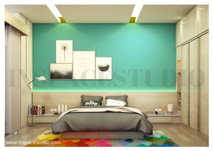 Kamar tidur:  Kamar Tidur by Inspace Studio