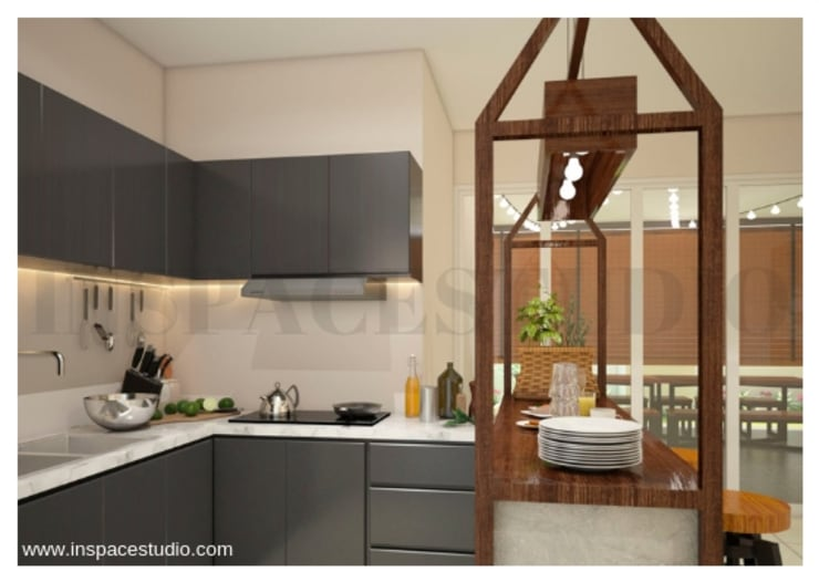 Konsep Dapur :  Dapur by Inspace Studio