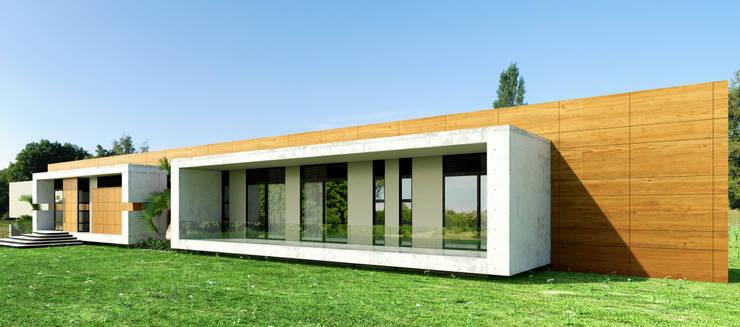 Casa Conjunto residencial Las Victorias / Ibagué - Colombia: Casas de estilo  por Taller 3M Arquitectura & Construcción