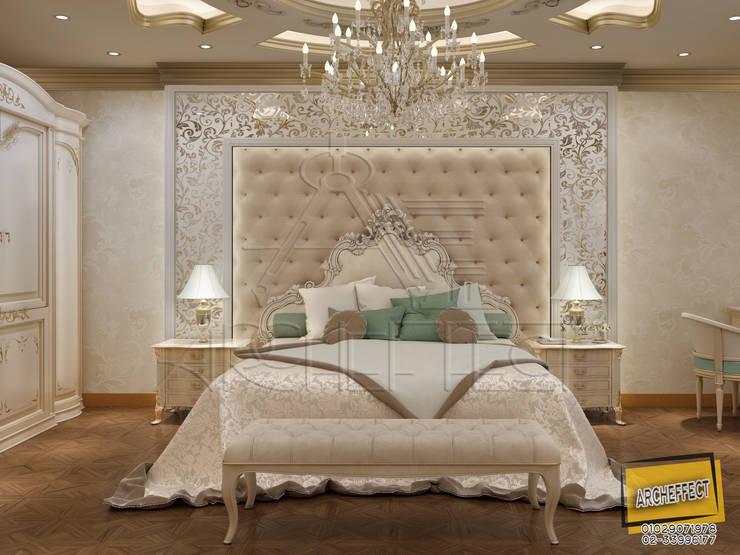 غرفة نوم كلاسيكية:  غرفة نوم تنفيذ Archeffect, كلاسيكي