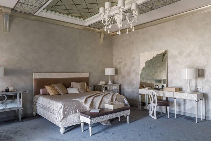 Дом с круглым окном: Спальни в . Автор – Студия дизайна Светланы Исаевой