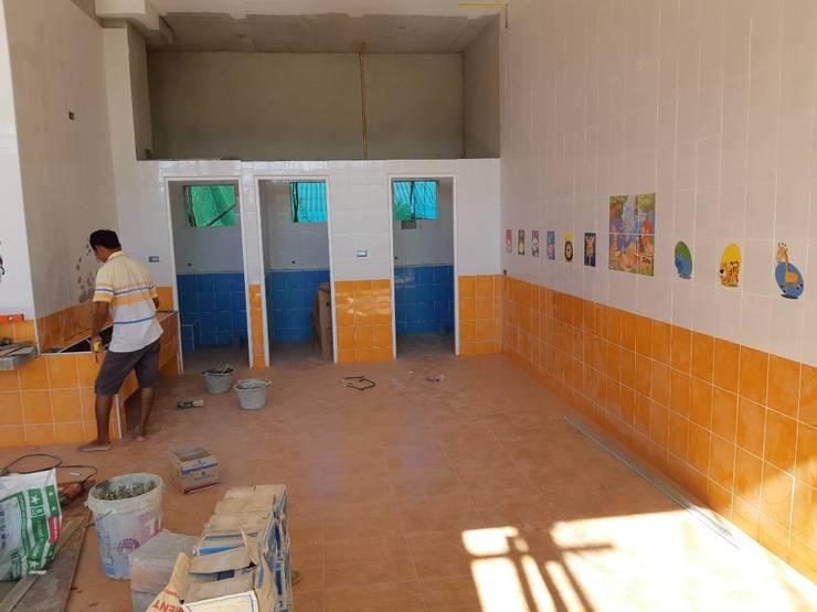 โรงเรียนรับเลี้ยงเด็กอ่อน-คริสตจักรสวนดอกไม้:  โรงเรียน by โอเบ เอ็นจิเนียริ่ง จำกัด