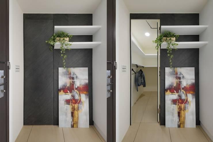 الممر والمدخل تنفيذ 微自然室內裝修設計有限公司