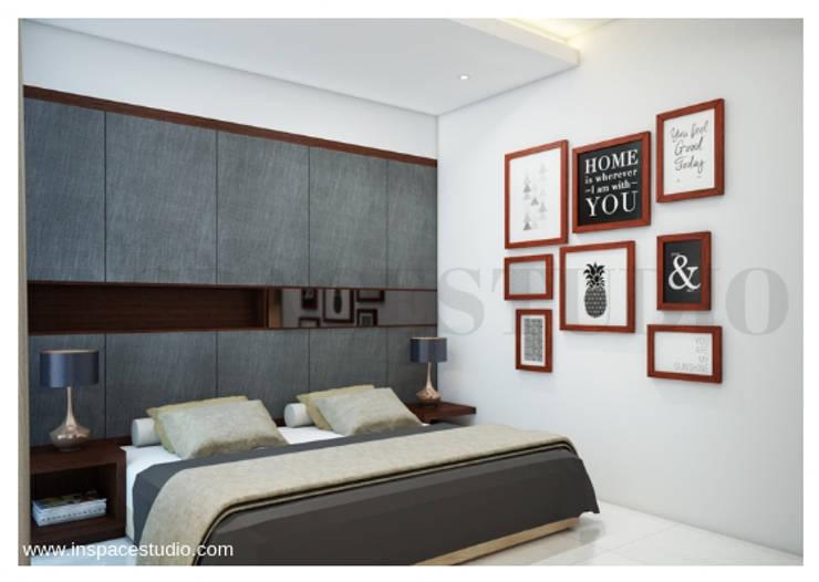 غرفة نوم تنفيذ Inspace Studio