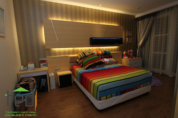 Cluster Akasia Golf 5 BGM PIK:  Bedroom by PD. Teguh Desain Indonesia