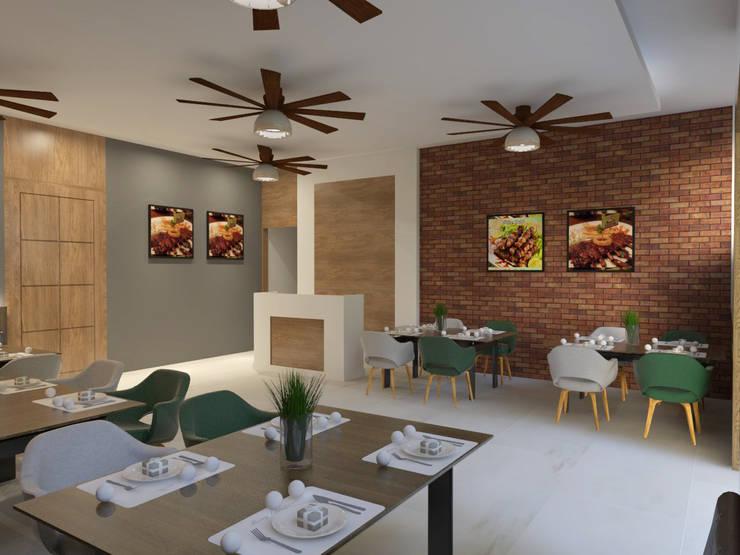 Area Tempat Makan 01:  Restoran by Arsitekpedia