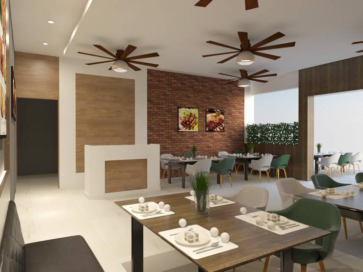 Area Tempat Makan 02:  Restoran by Arsitekpedia