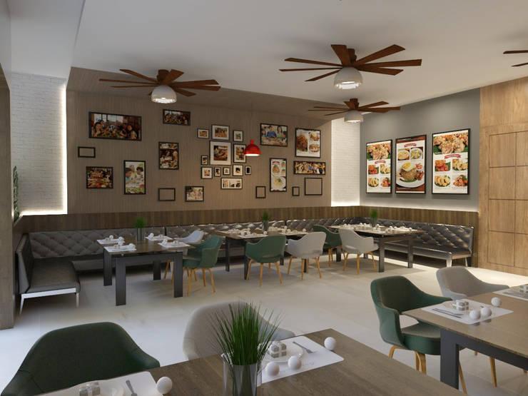 Pojok Ruangan :  Restoran by Arsitekpedia