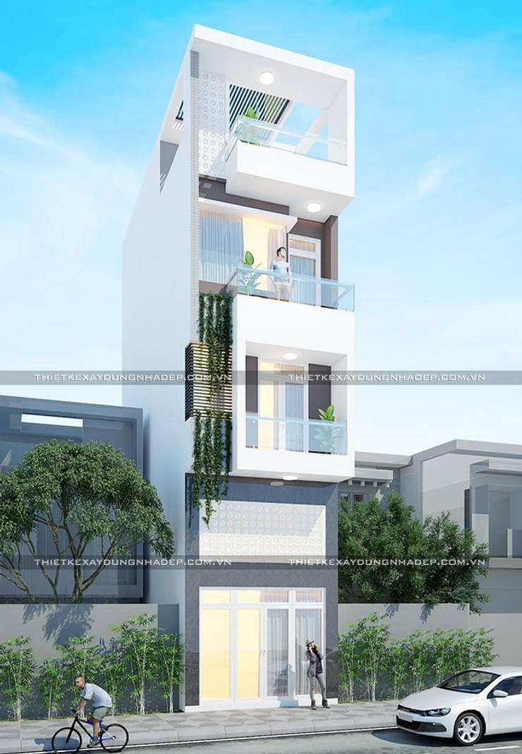 Nhà by Công ty cổ phần tư vấn kiến trúc xây dựng Nam Long