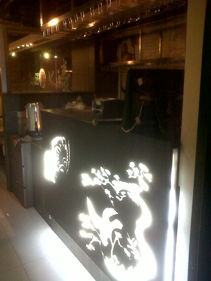 Laser Cutting:  Restoran by POWL Studio