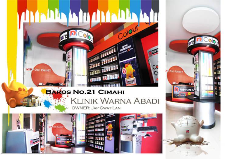 Klinik Warna Abadi :  Kantor & toko by POWL Studio