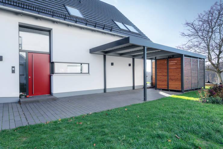 Modernes Carport Für Einfamilienhaus By Siebau Raumsysteme Gmbh Co