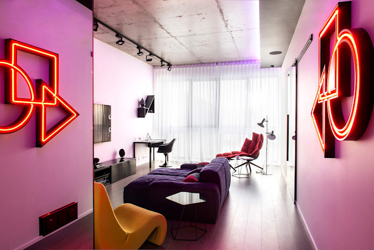 Geometrix Design의  거실