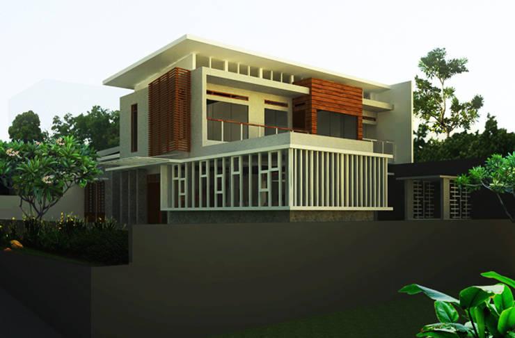 facade design:   by daun architect